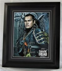 "A894ABSS ADAM BEACH - ""SUICIDE SQUAD"" AUTHENTIC SIGNED"